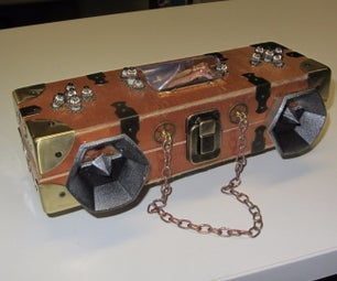 Steampunk Portable Game Box for the Victorian Soul