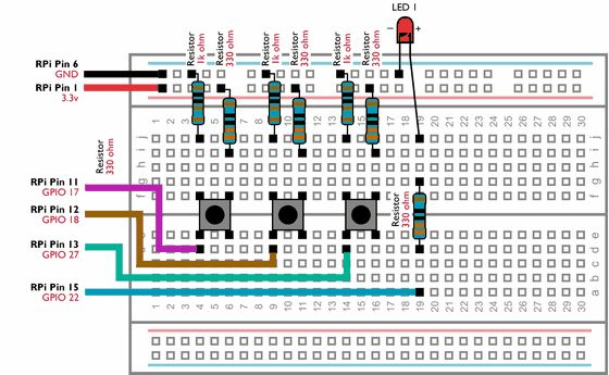 Picture of Creating Switch Circuits With Your Raspberry Pi's GPIO Pins