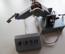 Robotic Arm Controlled by Arduino and PC