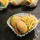 Hamburgers & Fries Sweet Treat for Picnics, Parties, Reunions & More
