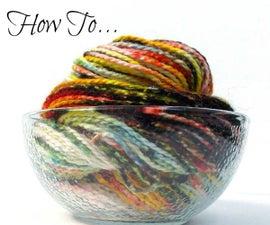 How to Dye Ugly Yarn