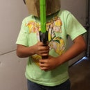 Easy to make Ninjago Golden Ninja Helmet