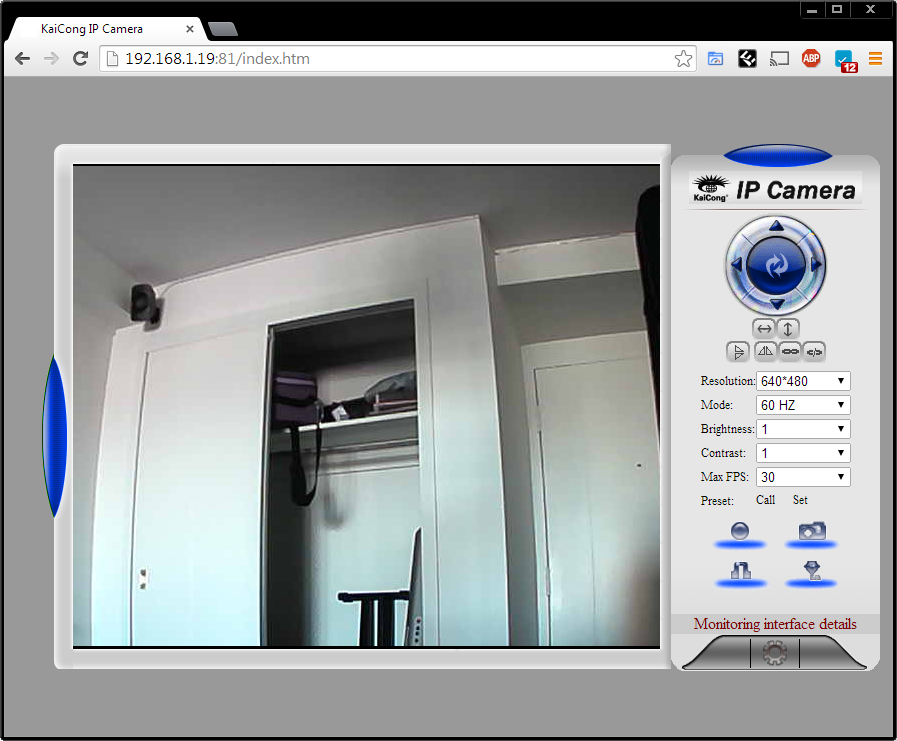 Picture of Setting Up the Camera