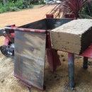 Brick Press from a Block Splitter