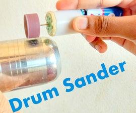 MAKE DRUM SANDER AT HOME