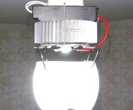 10W Retro-Futuristic LED Lamp