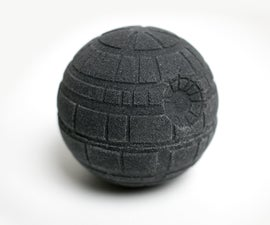 Exploding Death Star Bath Bomb
