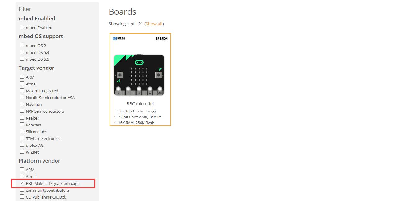 Picture of Choose BBC Micro:bit