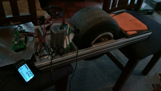Setting Up the Motor and Controller..