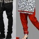 Churidar Salwar (indian trousers)