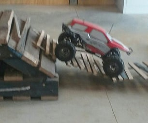 Pallet Rock Crawling Course.