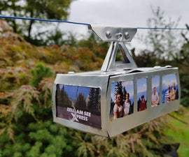 Make a Beer Can Cable Car