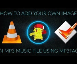 How to add image in your mp3 music file