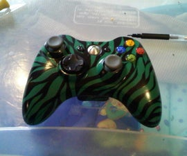 How to paint your XBox360 controller!