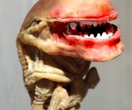 Alien Chestburster Puppet