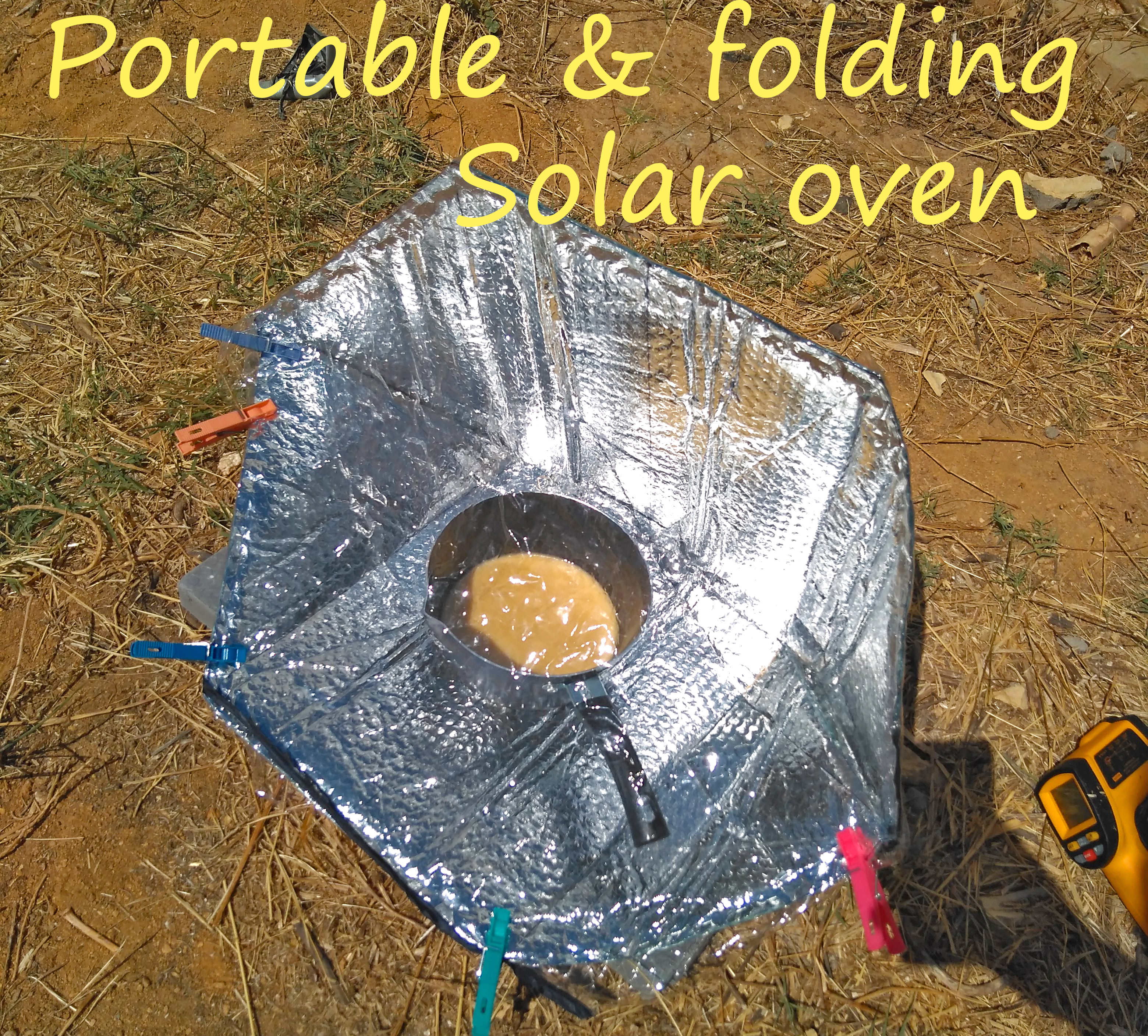 Picture of Portable and Folding Solar Oven