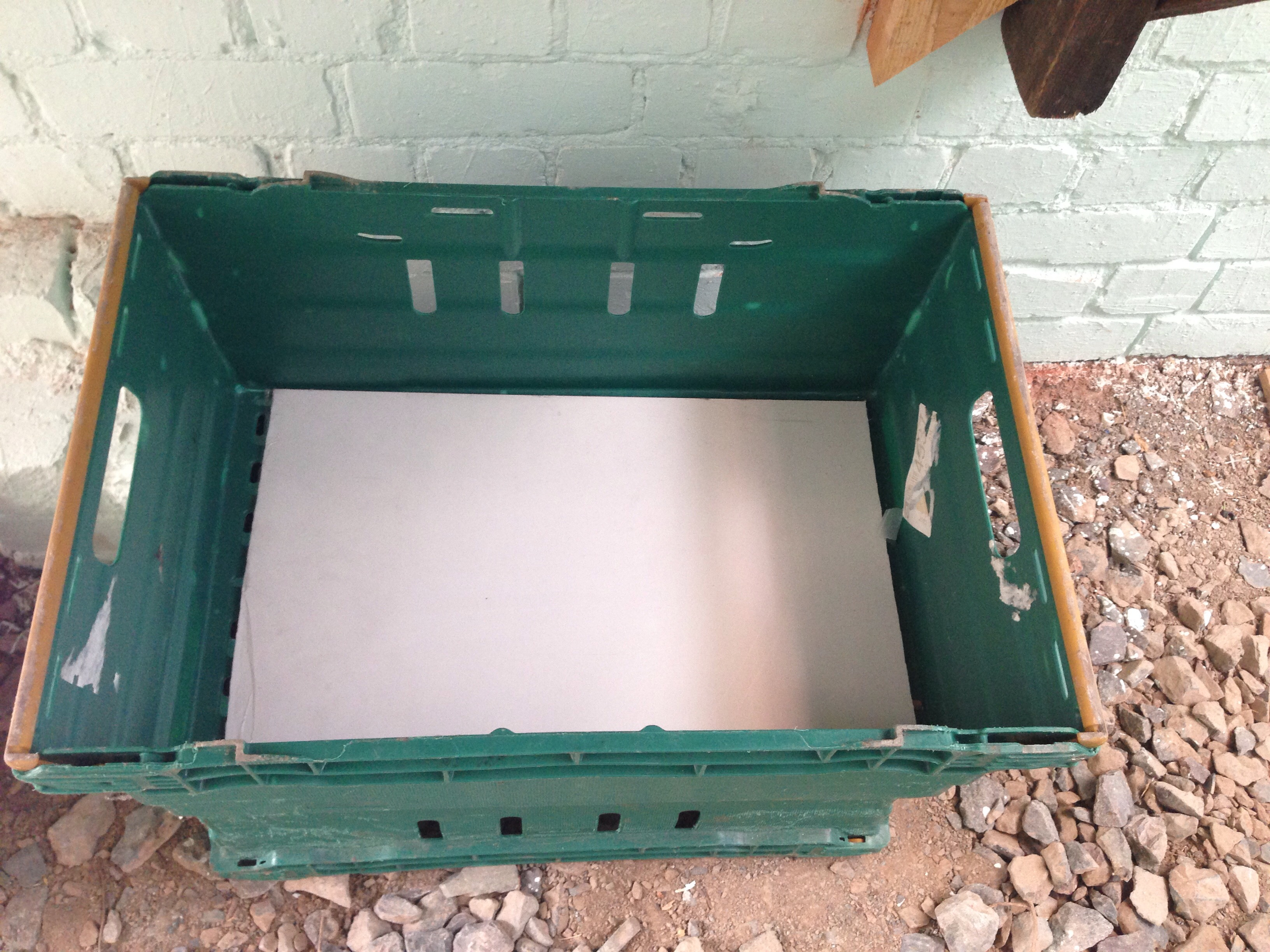 Picture of Build New Wormery Using Large Crates
