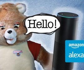 Alexa Ruxpin - Arduino & Raspberry Pi Powered Voice Assistant
