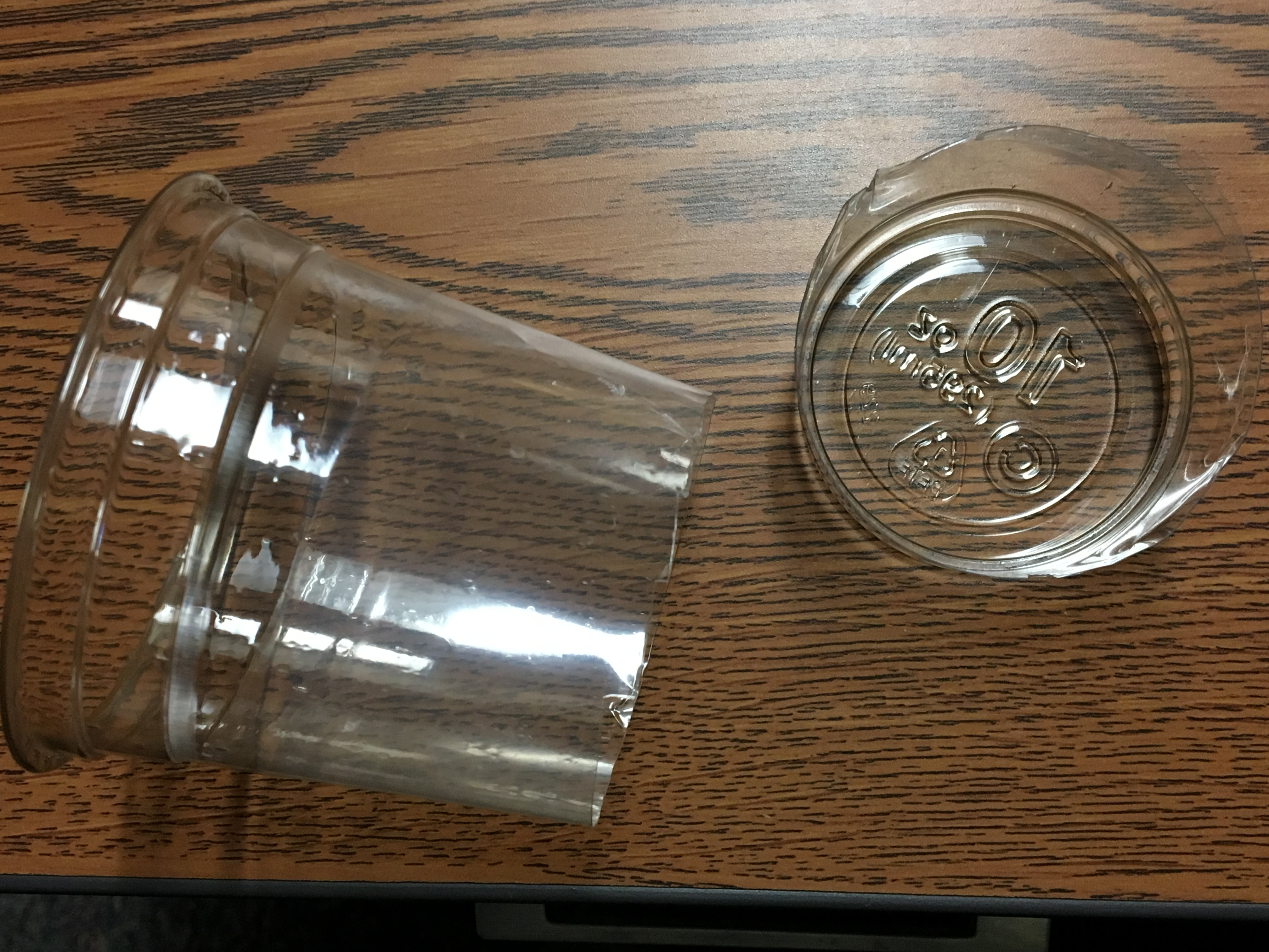 Picture of Cut the End Off of the Plastic Cup.
