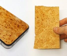 Flattening Warped Veneer and Pimping Your Phone