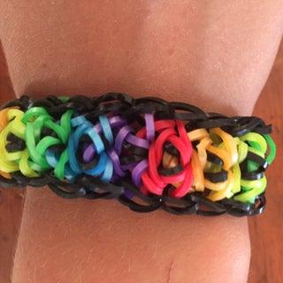 Rainbow Loom™ Totem Pole Bracelet