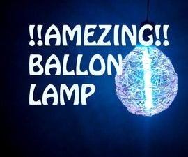 BALLON LAMP!!!AMEZING!!! (simple awsome ballon lamp)!!