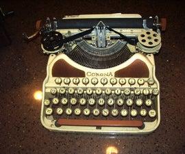 Restoring a 1926 Typewriter Case