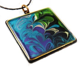 Abstract Painting Jewelry