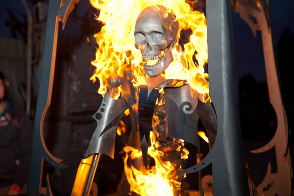 Zolterno: an Animatronic, Fire Based Fortune Teller