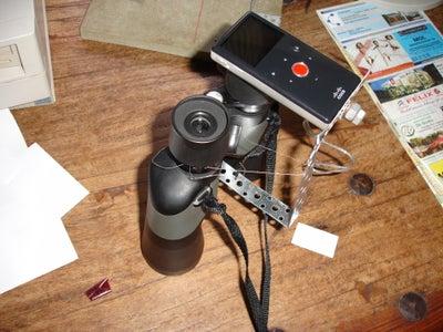 Camera Holder for Binoculars