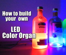 How to build your own LED Color Organ || Arduino || MSGEQ7