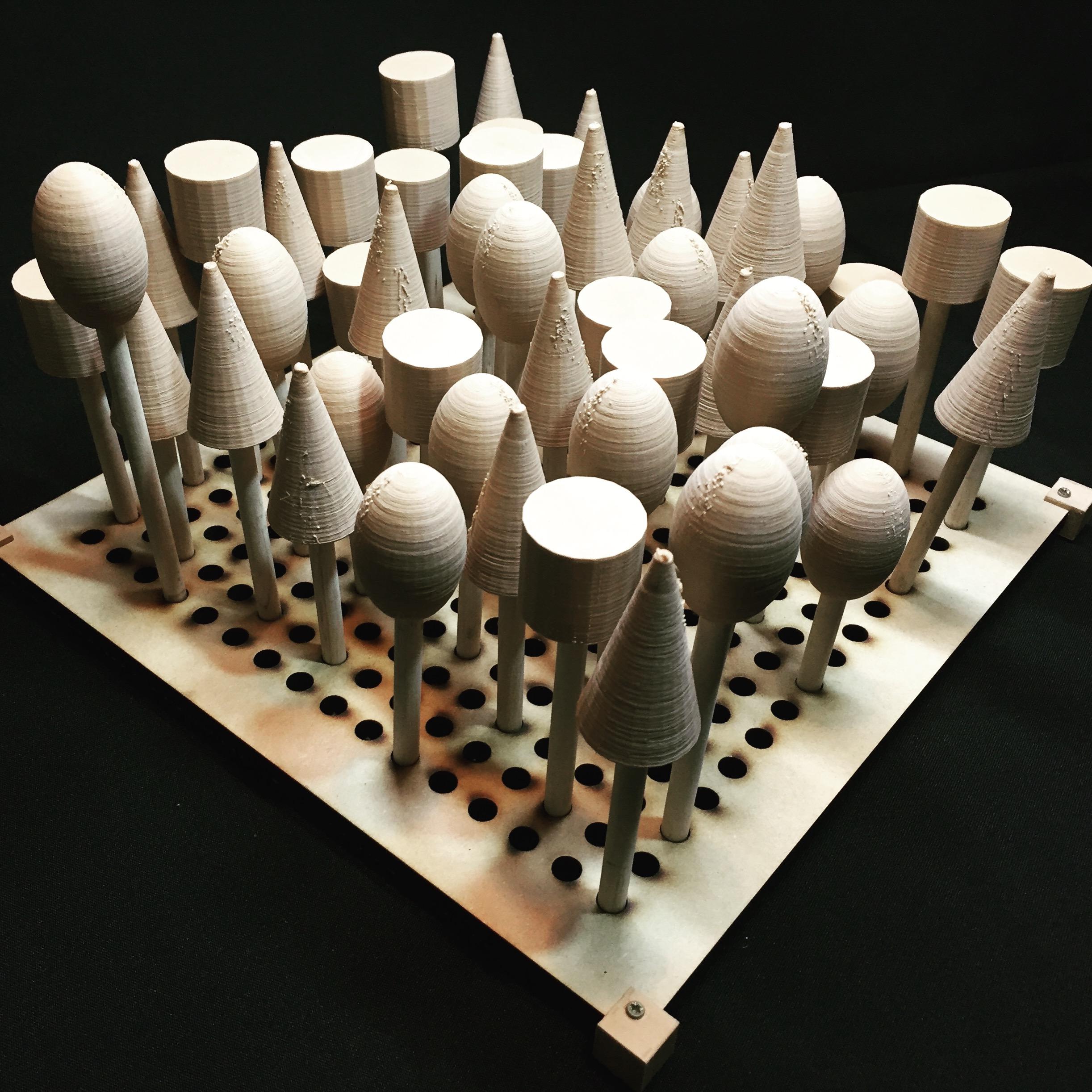 Picture of 3D Print Forest Model (Bosque Impreso En 3D)