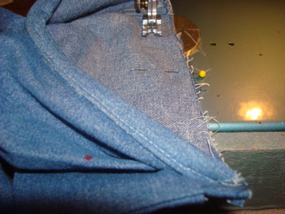Attaching the Cuff to the Sleeve