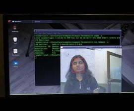 Real Time Face Detection on the RaspberryPi-4