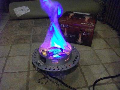 Preparing the Flame