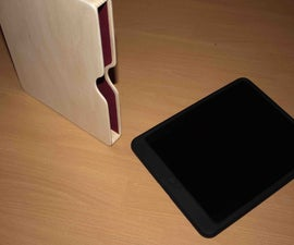 DIY Wooden iPad case