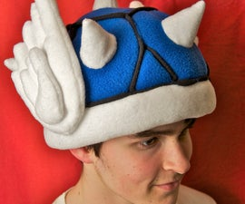 Mario Kart Blue Shell Hat