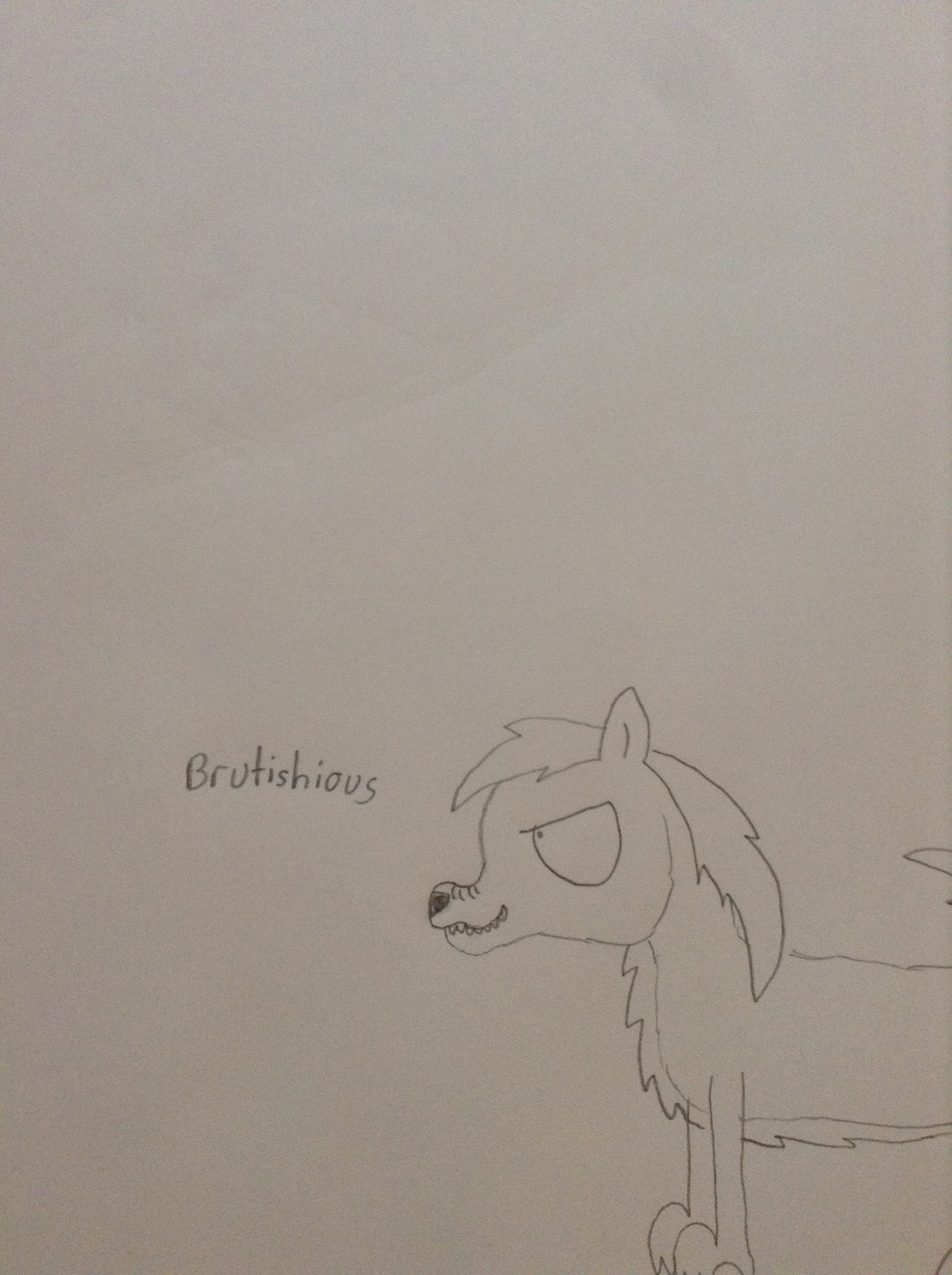 Picture of How to Draw a Wolf: Style One