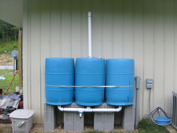 Water Saving Barrels