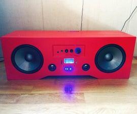 DIY Bluetooth BoomBox (UPGRADED)