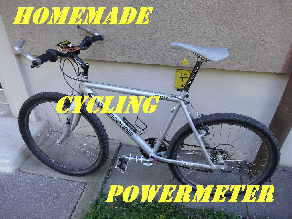 Picture of Homemade Cycling Powermeter