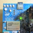 Intel Edison IoT_Read Pressure Sensor and logging data to SD Card
