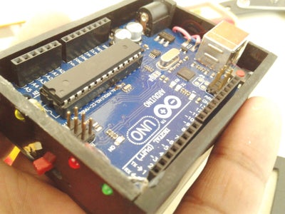 Placing the Arduino