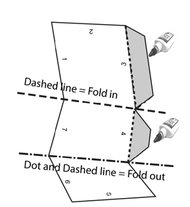 Fold the Dotted Lines