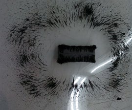 Simple Experiment to Visualize Magnetic Fields