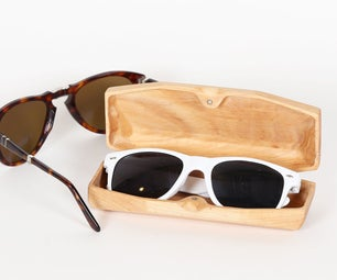 Sunglass Case - 3D Surfacing With CNC Router