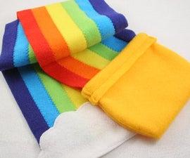 Pot o' Gold Rainbow Scarf