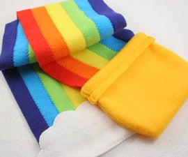 Pot o' Gold Rainbow Scarf