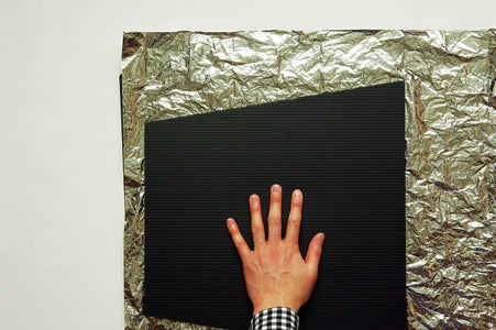 Attach the Aluminum Foil