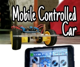 Mobile Controlled Bluetooth Car || Easy || Simple || Hc-05 || Motor Shield
